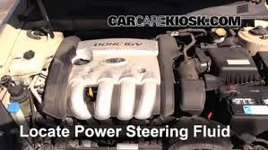 hyundai elantra power steering fluid check power steering level hyundai sonata 2006 2010 2007
