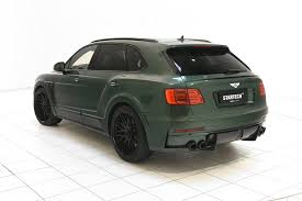 bentley startech bentley bentayga tuning by startech is verdant green autoevolution