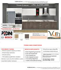 vurn kitchen special offer u2013 pedini nigeria