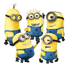 despicable 2 minion wall decal sticker 5 in 1