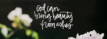 from ashes beauty from ashes christian cover banner