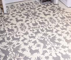 Cement Floor Paint Otomi Painted Concrete Floor Annie Sloan Chalk Paint Diy