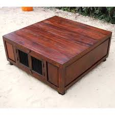 Rustic Square Coffee Table With Storage Top Rustic Solid Wood Large Square Coffee Table Waffle House