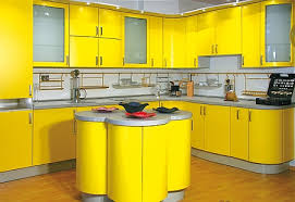 yellow kitchen design yellow kitchen designs