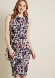 sheath dress epic evening floral sheath dress modcloth