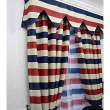 White And Blue Striped Curtains Navy Blue Striped Curtains