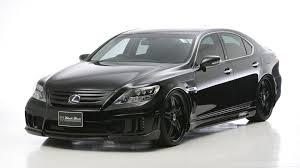 2010 lexus sedans lexus ls600h gets black bison edition from wald international