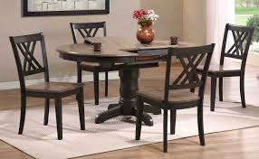iconic furniture dining set grey stone black stone rd42 grs bks