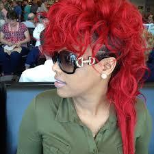keyshia dior hairstyles keyshia dior mohawk keyshia dior fire red hair love this
