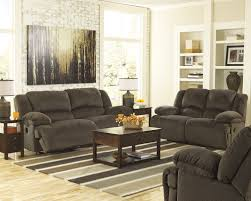 3 Seat Recliner Sofa by Buy Toletta Chocolate Two Seat Reclining Sofa By Signature