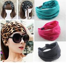 wide headband best 2015 new variety of wear method cotton elastic sports wide