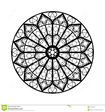 window coloring page