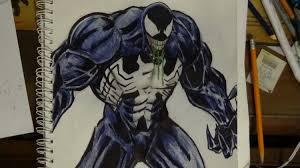 my pencil u0026 ink drawing venom eddie brock