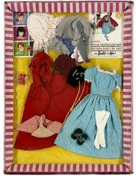 vintage barbie red riding hood wolf