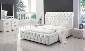 white tufted headboard with crystals home design ideas