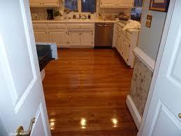 Black High Gloss Laminate Flooring 2 1 4 U0027 U0027 Red Oak Hardwood Flooring Stained Golden Oak And Coated