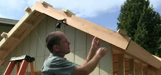 How To Make A Shed House by How To Build A Shed Part 11 Installing Fascia Boards U0026 Soffit