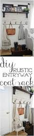 best 25 diy coat rack ideas on pinterest wall coat rack