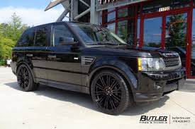 land rover ford land rover range rover sport with 22in redbourne manor wheels