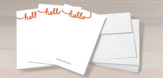 personalized stationery sets easy personalized gifts create unique custom gifts without