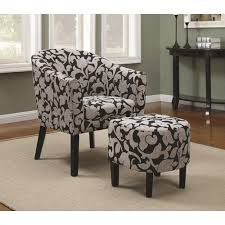 chairs amusing accent chairs with ottomans accent chairs with