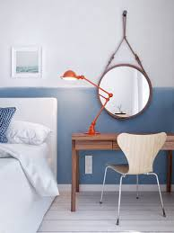 Nautical Wall Mirrors Contemporary Round Nautical Mirror Metal Mirror Frame White Wall