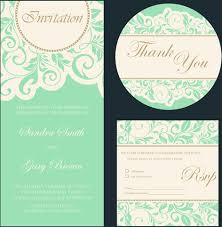 marriage invitation card design wedding invitation card design illustrations with retro background
