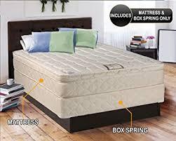 amazon com tomorrow u0027s dream inner spring pillow top eurotop
