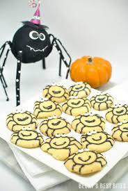 easy halloween spider cookies becky u0027s best bites