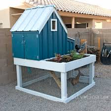 small chicken ana white small chicken coop with planter clean out tray and