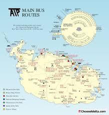 Malta World Map Malta Bus Atp Maplets