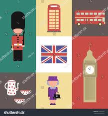 Pot Flag Flat Icon Vector England Symbol Queen Stock Vector 231622399