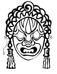 masquerade mask stencil free download clip art free clip art