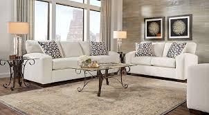 Formal Sofas For Living Room Lucan Cream 3 Pc Living Room Living Room Sets Beige