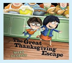 the great thanksgiving escape book pottery barn