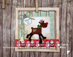 handmade christmas cards with iron on patches the crafts world