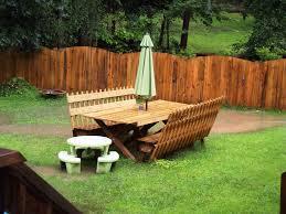 Backyard Fences Ideas Triyae Com U003d Outdoor Fence Ideas Various Design Inspiration For