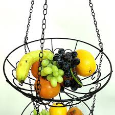 fruit and vegetable basket 3 tier wire hanging basket fruit vegetable basket 29 23 online