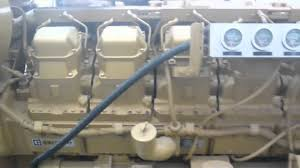 caterpillar 3512 di generator set youtube