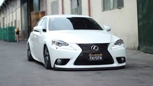 lexus is250 f sport front lip car racing lexus is350 bagged and dropped youtube
