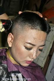 punishment haircuts for females getting a nice high and tight buzzcut forced haircut