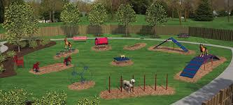 Dog Playground Equipment Backyard by Bark Park Equipment Dog Parks New England Recreation Group
