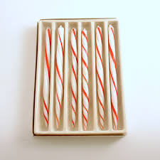 vintage christmas decoration ornaments glass candy cane icicles