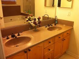 ideas for bathroom countertops molded bathroom sinks countertops crafts home