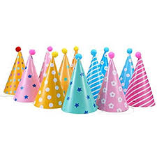 party hats 12pcs party hats lovely paper cone birthday party hats