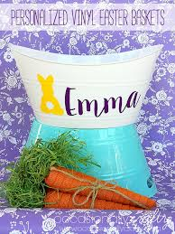 personalized easter baskets for kids personalized easter baskets occasionally crafty personalized