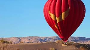 balloons over atacama home page with navigation to our helpful