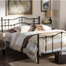 Queen Size Platform Bed Black U0026 Silver Queen Platform Bed Hi824 Q Black Silver The Home