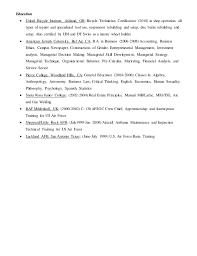 Mechanic Sample Resume by Sample Resume General Mechanic Resume Templates