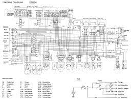 2000 v star 650 wiring diagram motorcycles yamaha xj maxim wiring